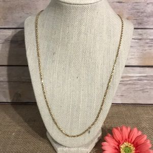 "14k Gold 24"" Rope Necklace"